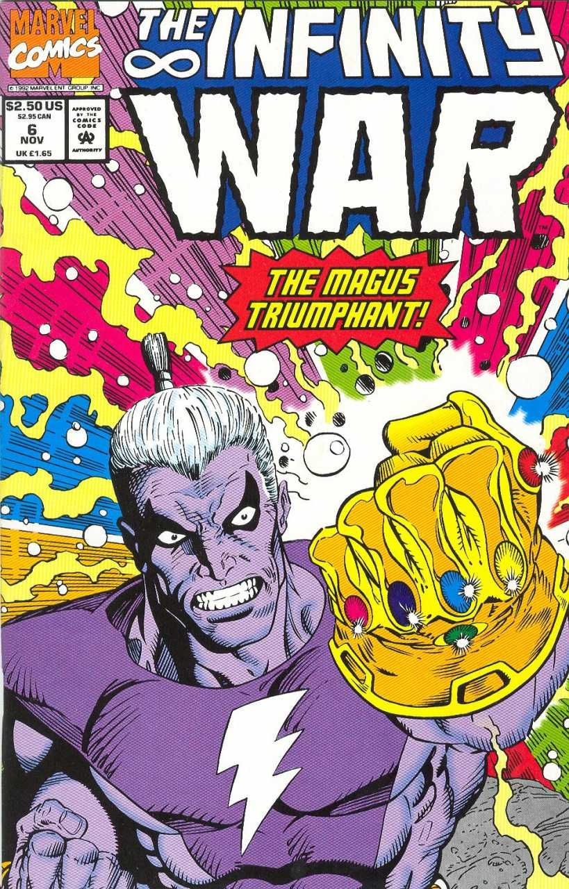 USA, 1992 of 6 Infinity War # 2 Ron Lim, 52 pages