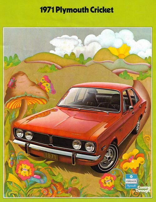 1971 Plymouth Cricket Plymouth Chrysler Vintage Ads