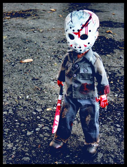 Halloween Costume Jason Friday 13th.Awh Baby Jason Friday The 13th Dolls Miniatures Horror
