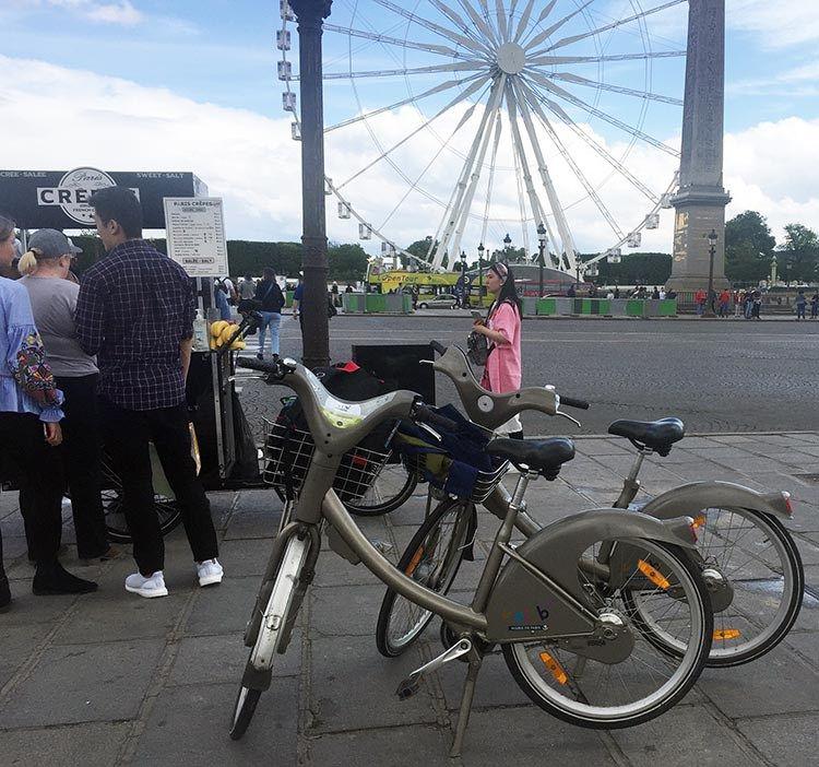 How To Use A Velib Bike In Paris Cycling Workout Bike European