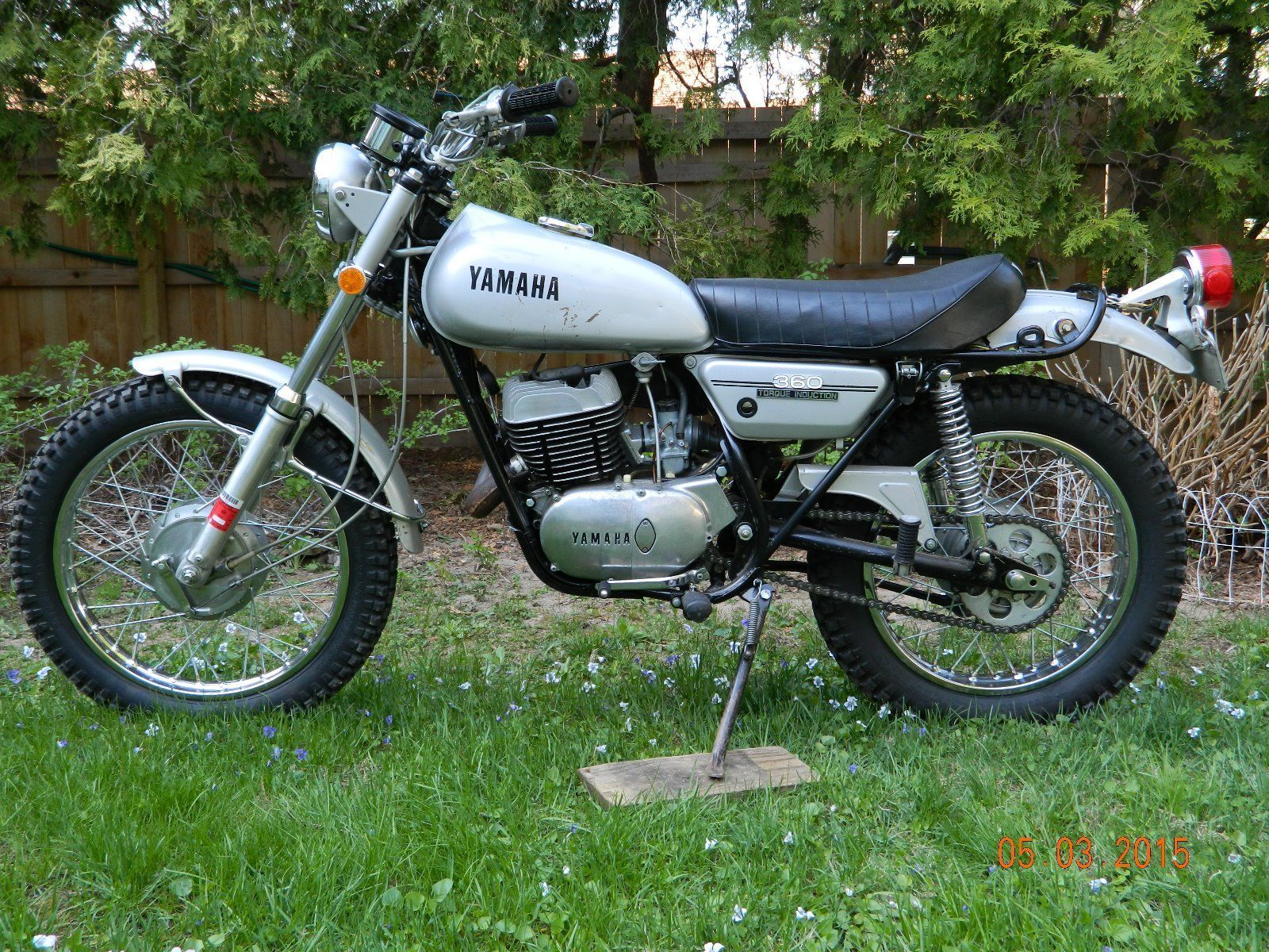 1972 yamaha rt2 360 enduro motorcycle ebay 1972 yamaha. Black Bedroom Furniture Sets. Home Design Ideas
