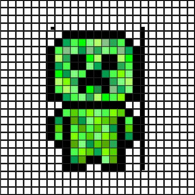 Minecraft Sword Pixel Art Gridminecraft D Pixel Art Ideas