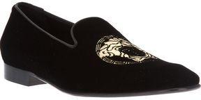 5c1f08bf6b05 Versace logo loafer on shopstyle.com   MEN S WEAR
