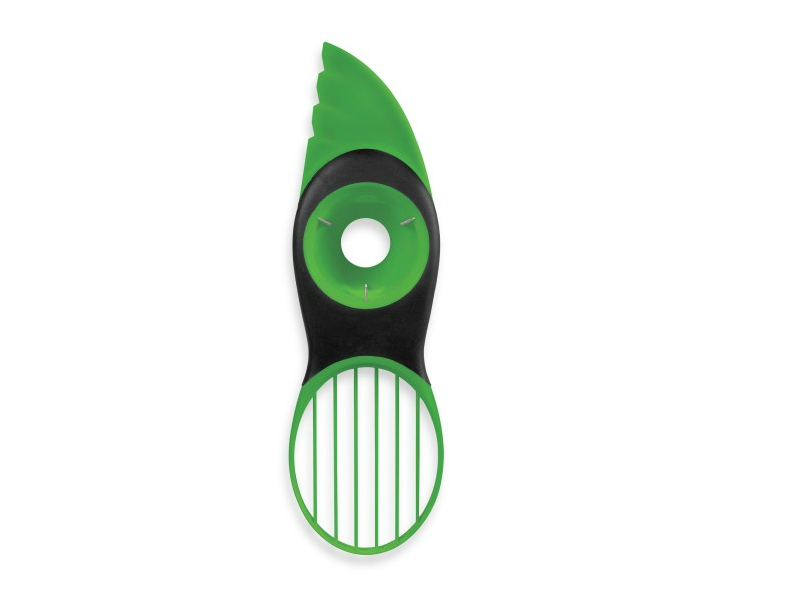 Three-in-One Avocado Slicer splits, pits, slices and scoops avocados. Does it work?