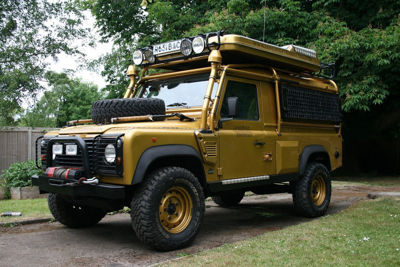 For Sale Ultimate Overland Expedition Land Rover Defender 110 Xd Lone Wolf Wohnmobil
