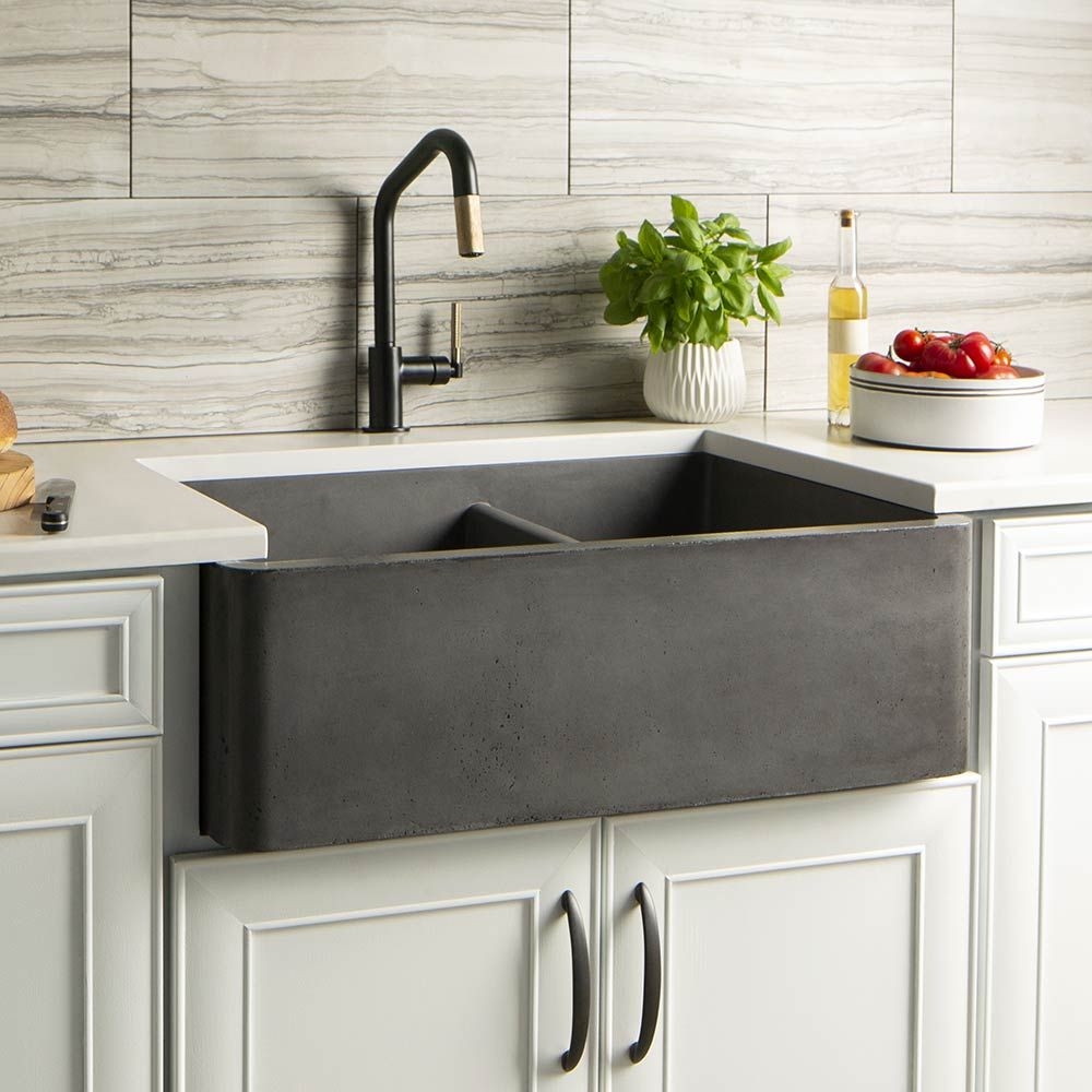 NativeStone Luxury Concrete Kitchens Sinks Native Trails