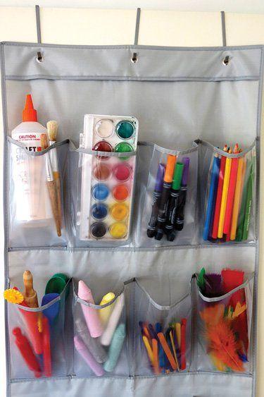 10 Ways To Store Kids Art Materials Kids Craft Storage Arts And Crafts Storage Kids Crafts Organization