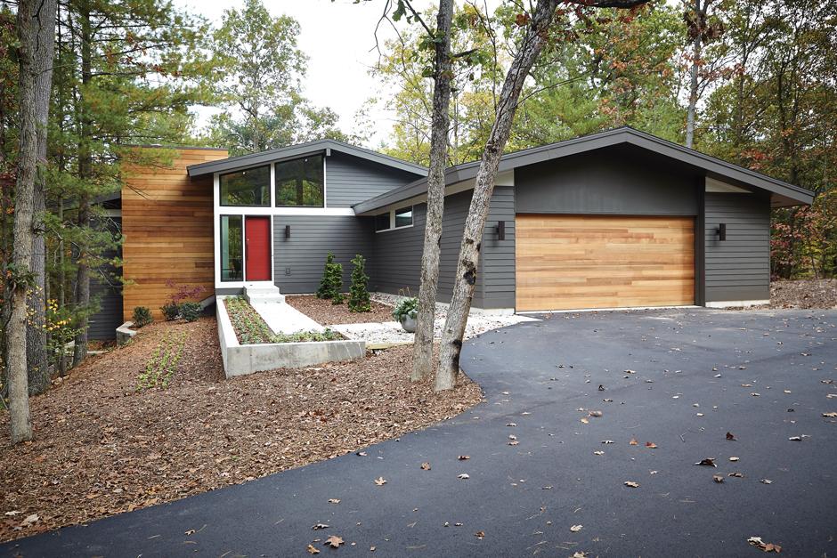 New Urban Home Builders Mid Century Modern Mid Century Modern Exterior Mid Century Modern House Mid Century Exterior
