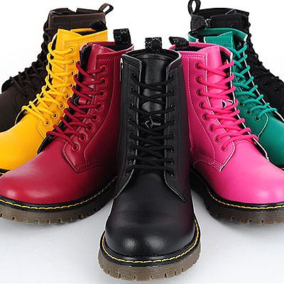 1000  images about Combat boots on Pinterest | Doc martens, Pastel ...