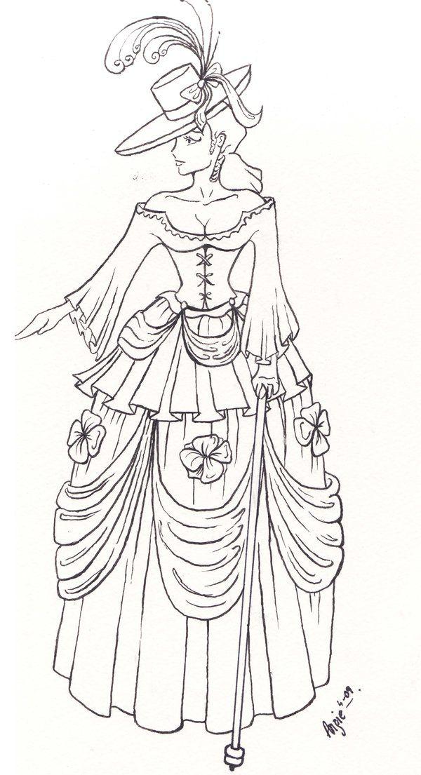 Victorian fashion by blackhorsewhispers.deviantart.com on ...