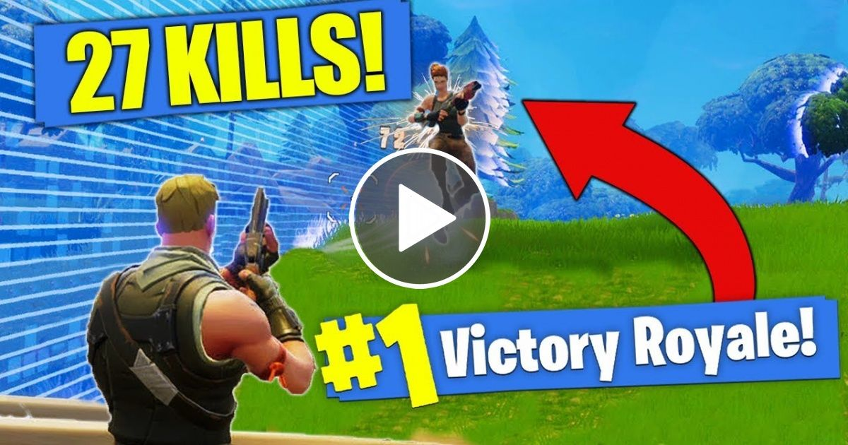 New Kill Record 27 Solo Kills In Fortnite Battle Royale