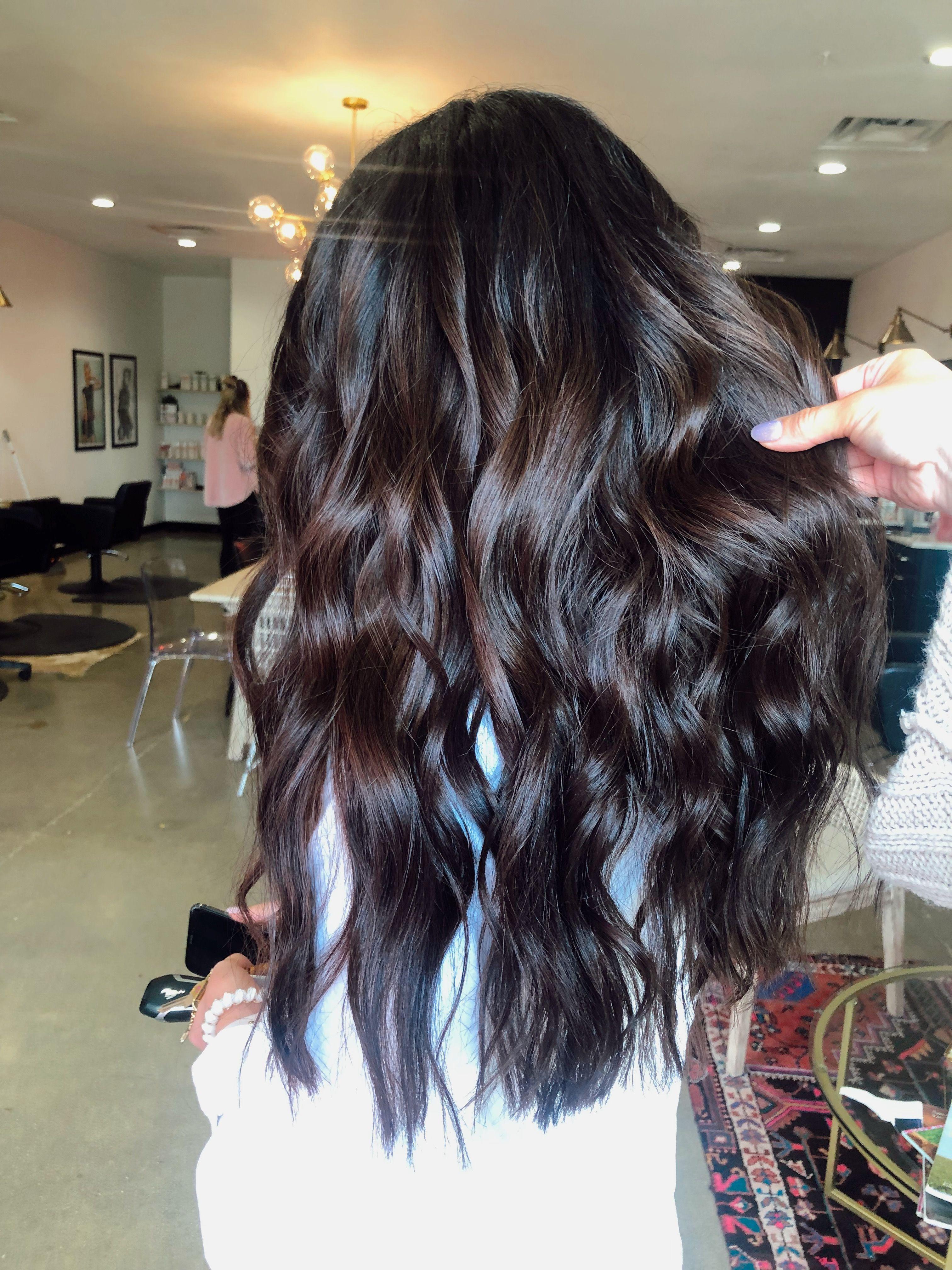 Dark Rich Chocolate Brown Balayage Dark Brown Hair Balayage Mocha Hair Brown Hair Balayage