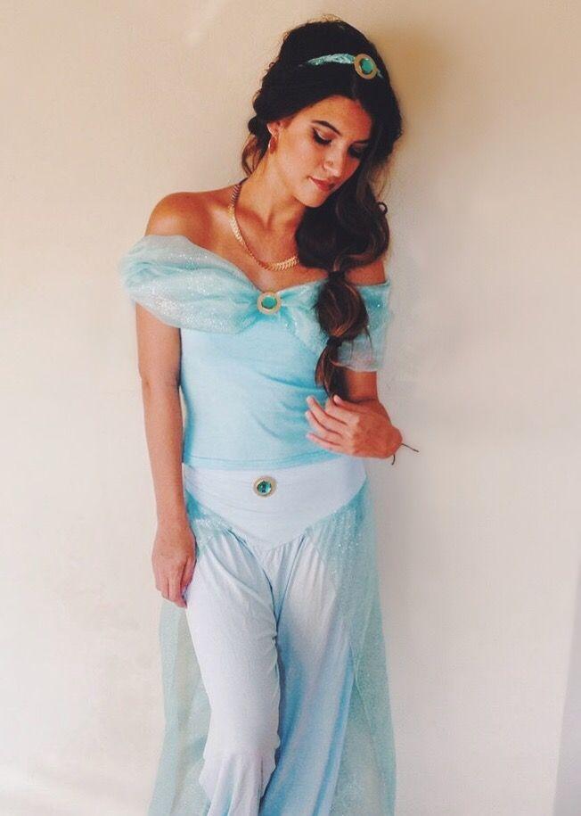 DIY Modest Princess Jasmine Costume in 2019