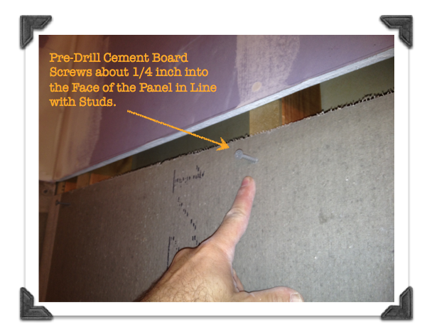Pre Drill Cement Board Screws to Make Installation Easier | inside ...