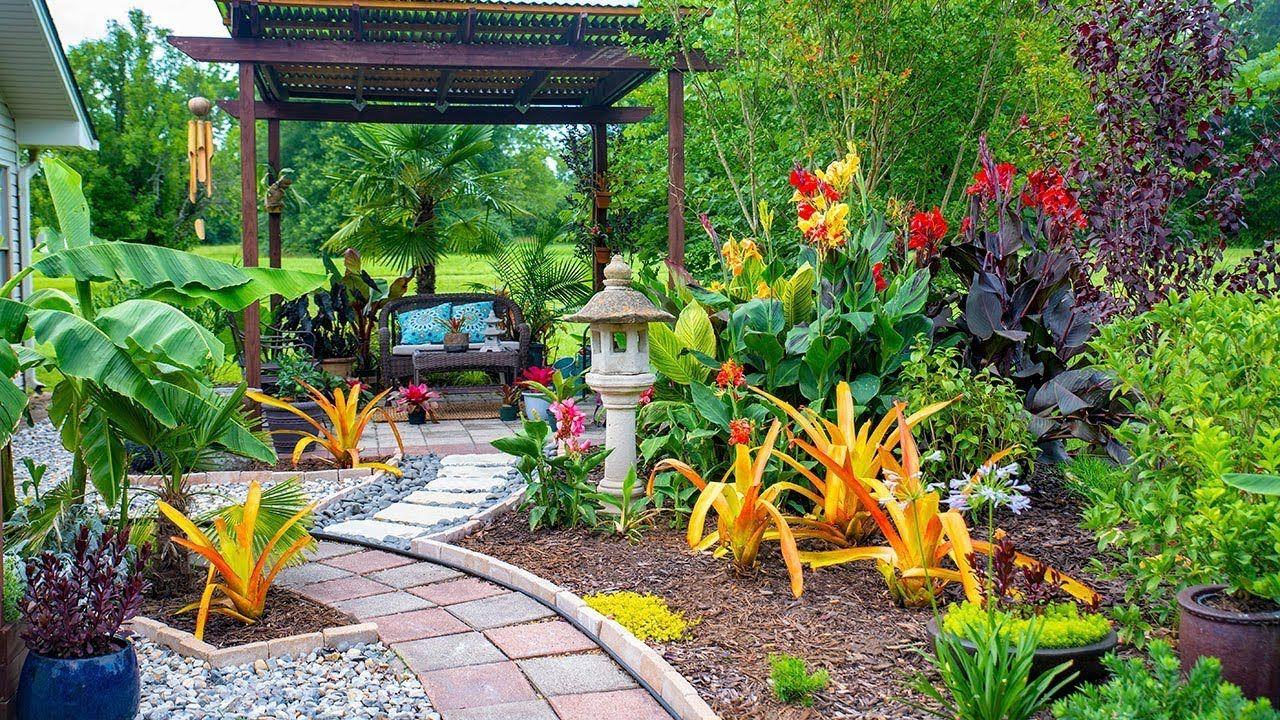 Garden Tour August 2019 - Tropical garden - Arkansas ...