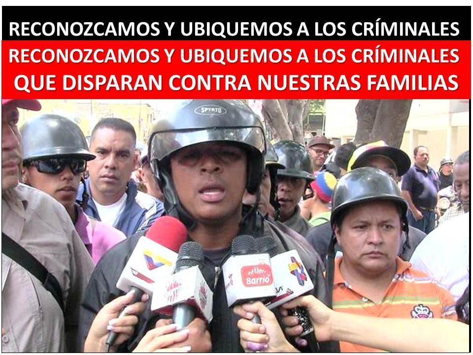RT @juanpelando: ACTIVAR INTELIGENCIA SOCIAL CIUDADANA IDENTIFICANDO A LOS ASESINOS QUE DISPARAN A NUESTRAS FAMILIAS. pic.twitter.com/LRJRhxmL1X