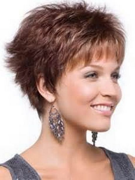 Short razor haircuts for women short layered haircuts - Femmes 50 ans et plus ...
