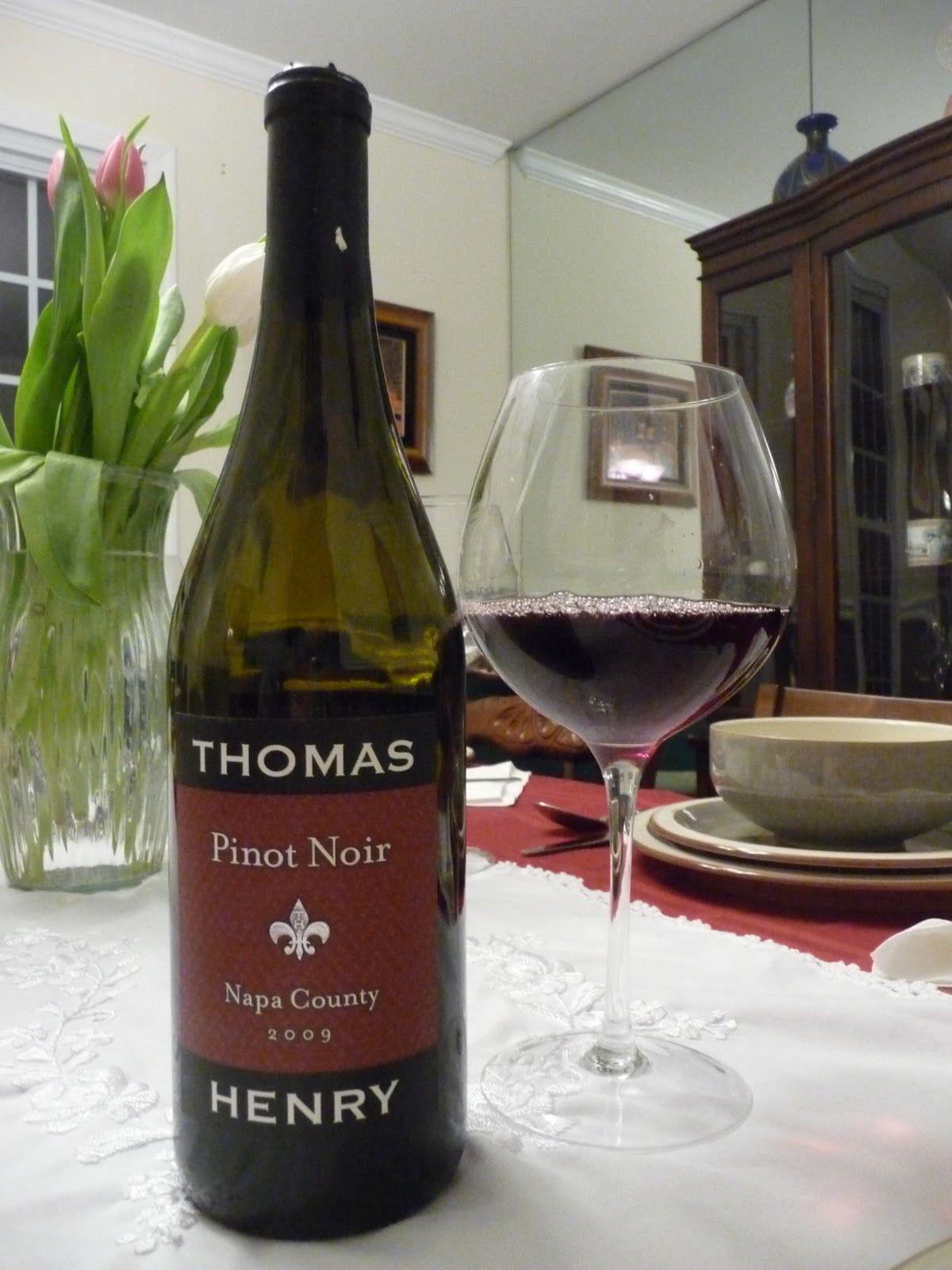 thomas henry wines | Thomas Henry Pinot Noir (2009)