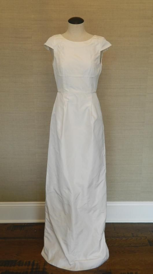 2e6f3d848490 JCrew Silk Taffeta Elsie Gown  650 4 Wedding Dress Bride Formal Long  JCrew   BallGown  Formal