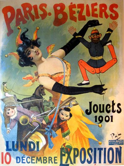 Artistic vintage advertisments, posters, art | ... Jouets by Pal ...