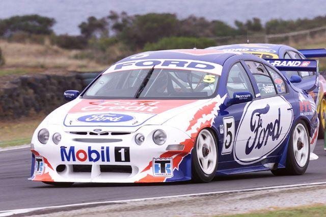 Ford Falcon Xr8 Race Car Super Cars V8 Supercars Ford V8