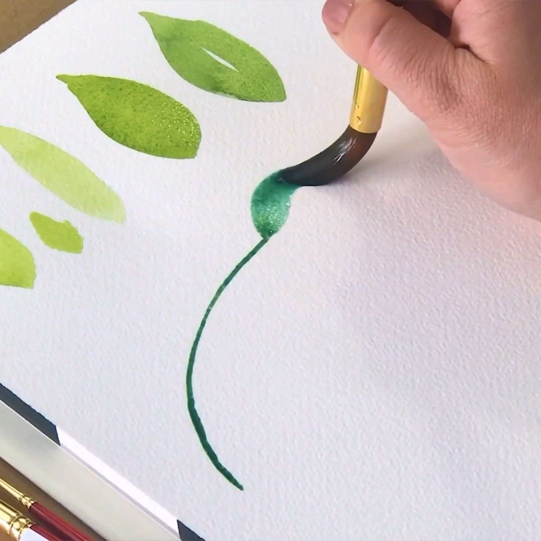 Learn how to paint over 30 leaves, greenery, filler, and focal flowers with Erin of Snowberry Design Co. This online course is perfect for beginners who are just getting started painting watercolor flowers. Learn how to paint with step by step, easy to follow videos and tutorials that are part of this class.