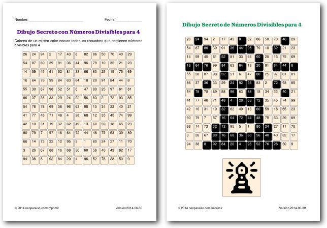 Juegos De Divisibilidad Juegos Matemáticos Para Niños Juegos De Matemáticas Divisibilidad Matemáticas Para Niños
