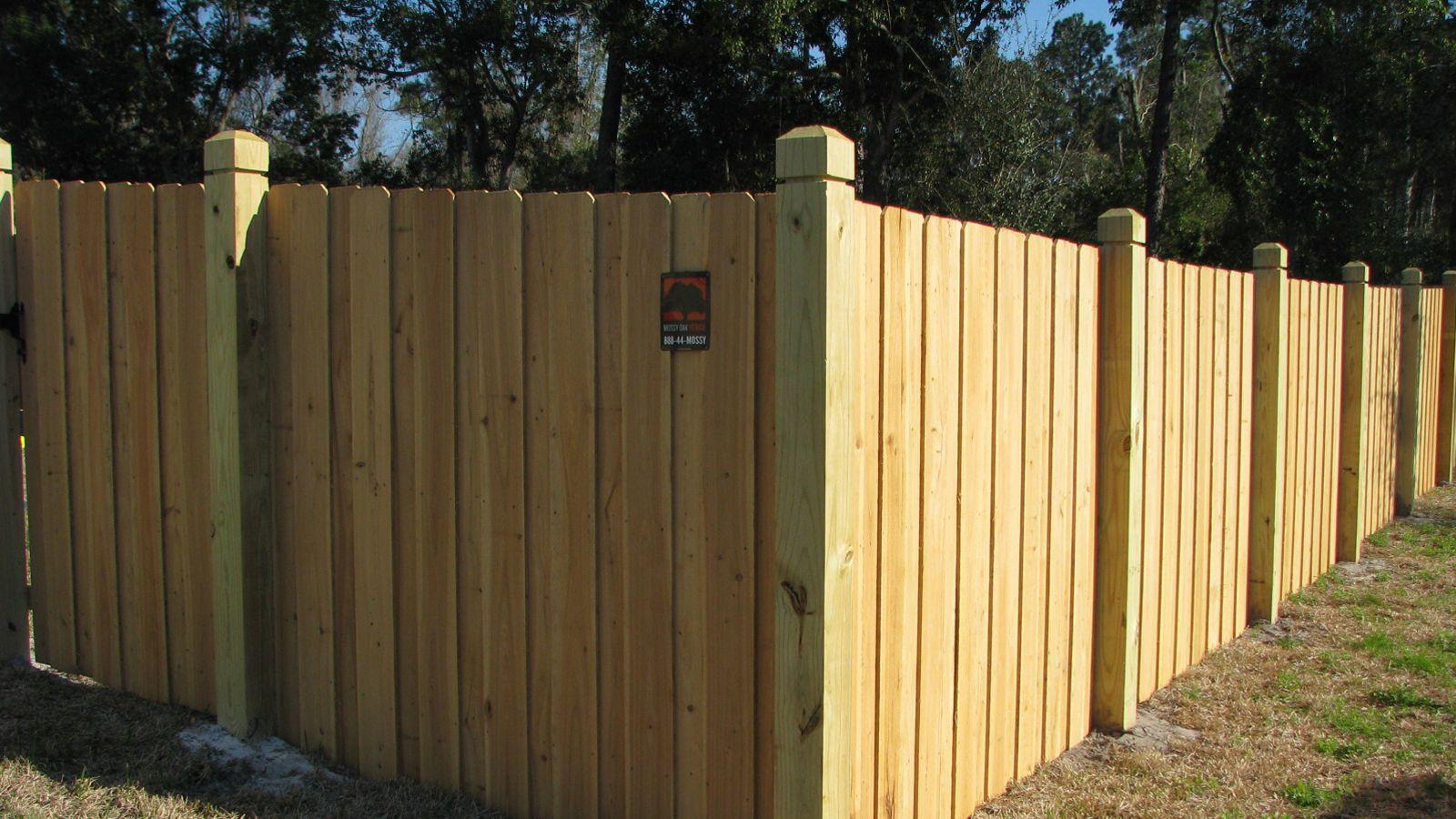 Wood board on board privacy fence by mossy oak fence wood fence wood board on board privacy fence by mossy oak fence baanklon Gallery