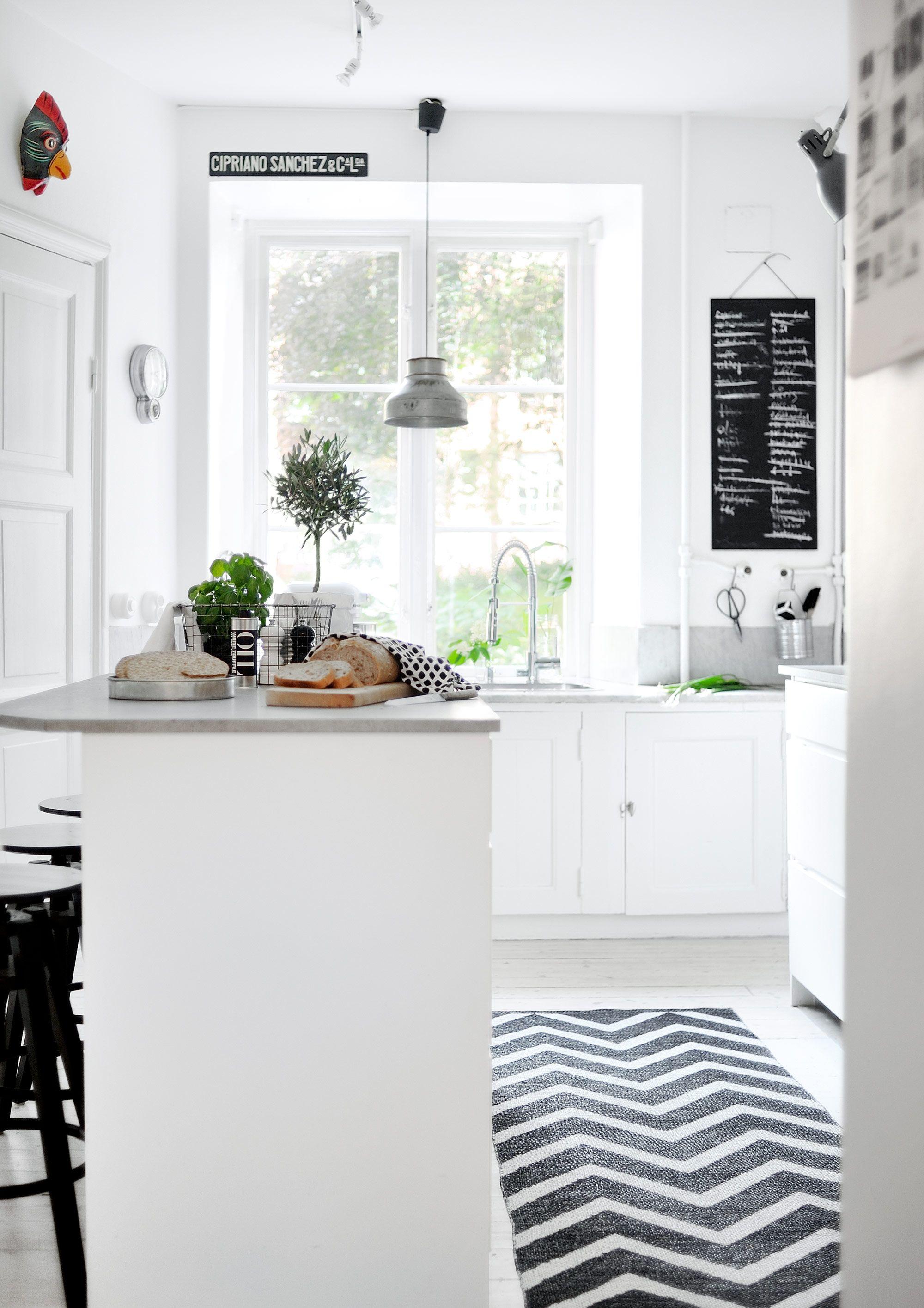 Cocina con toque bohemio y chic   Estilo Escandinavo   Kitchens ...