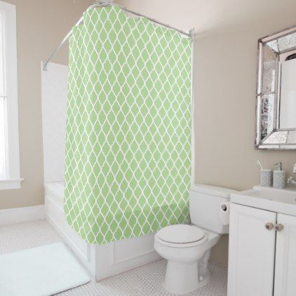 Decorative patter classic shower curtain   Classic showers