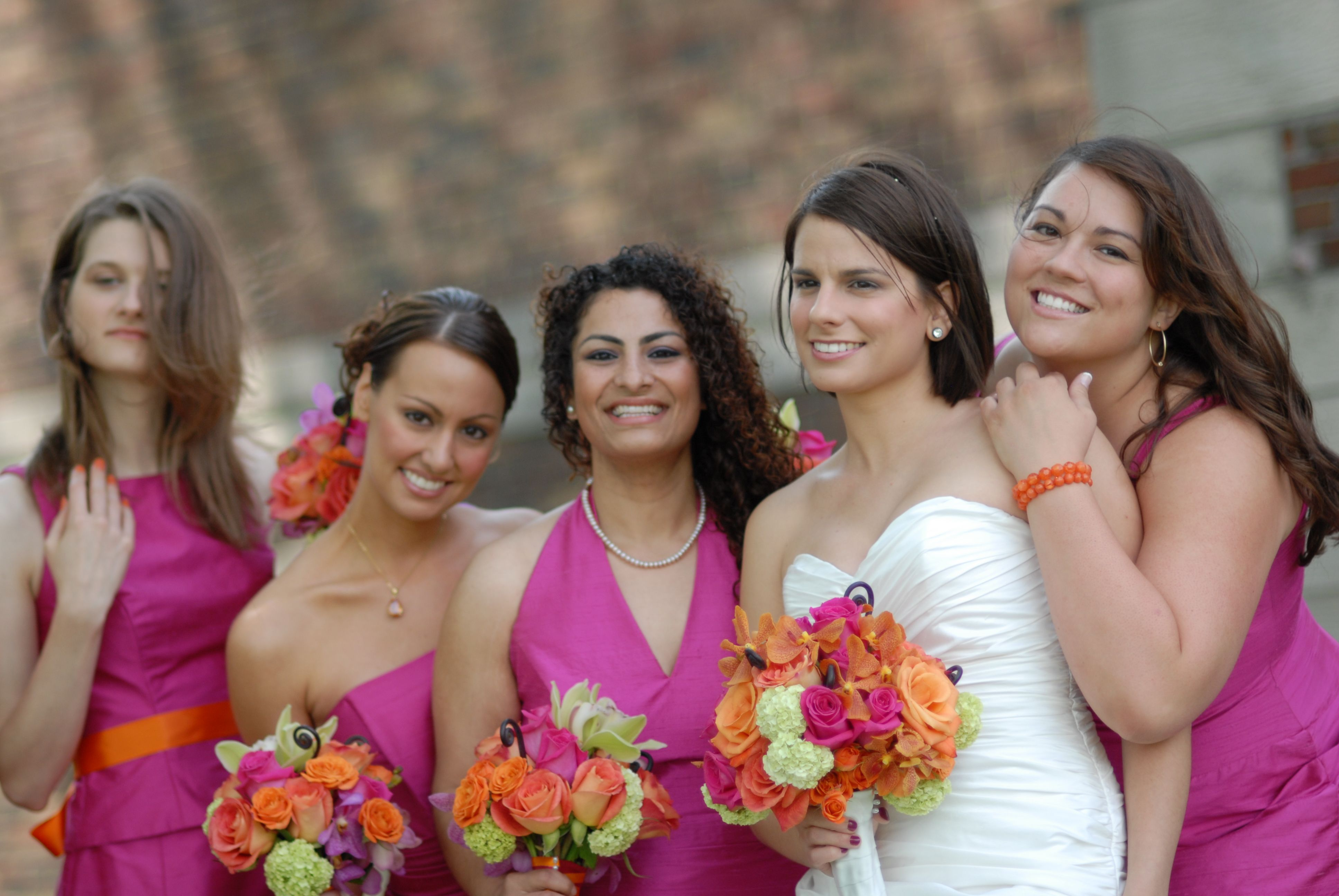 Google image result for httpmoderngirlinvitations fuschia orange and brown wedding ombrellifo Images