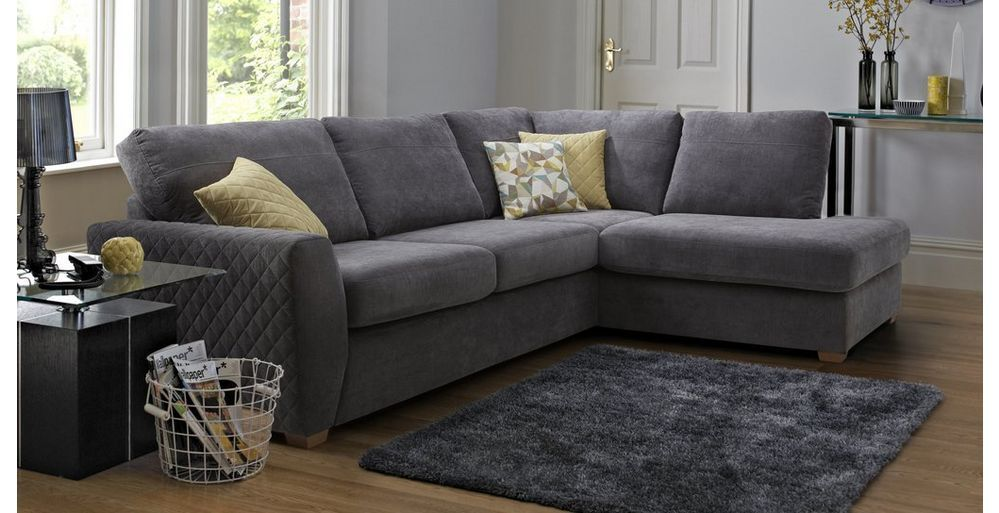 Astaire Left Hand Facing Arm Open End Corner Sofa Sherbet Dfs Corner Sofa Living Room Grey Corner Sofa Dfs Grey Corner Sofa
