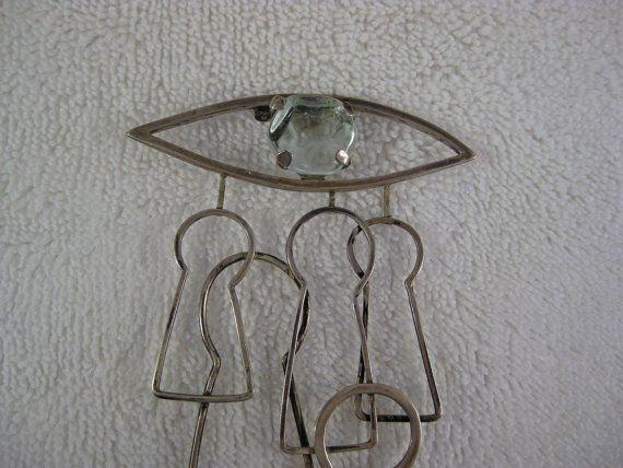 Vintage Big Surrealist Modernist Dali  esque by ElegantObjects