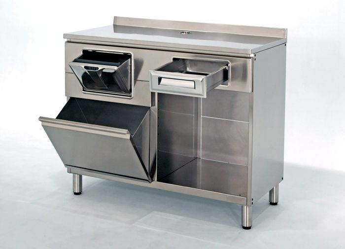 Mobili Acciaio ~ Stainless steel furniture for coffee machine mobile per macchina