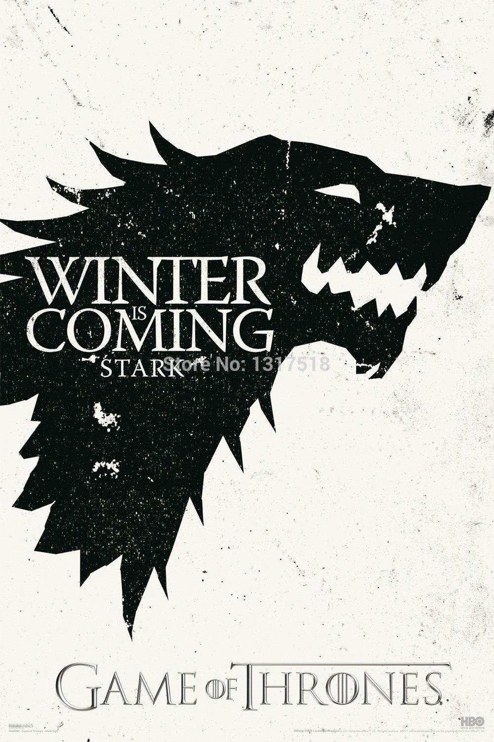 Game Of Thrones Stark Poster 27x40cm Only 8 99 Free Shipping Worldwide If You Like It Share It With With Images Game Of Thrones Poster Game Of Thrones Winter Stark Sigil