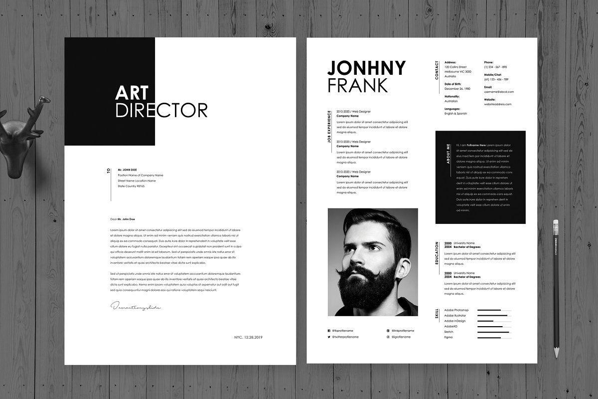 Creative Resume Cv Template 38 Lebenslauf Ideen Lebenslauf Gestaltung Kreativer Lebenslauf
