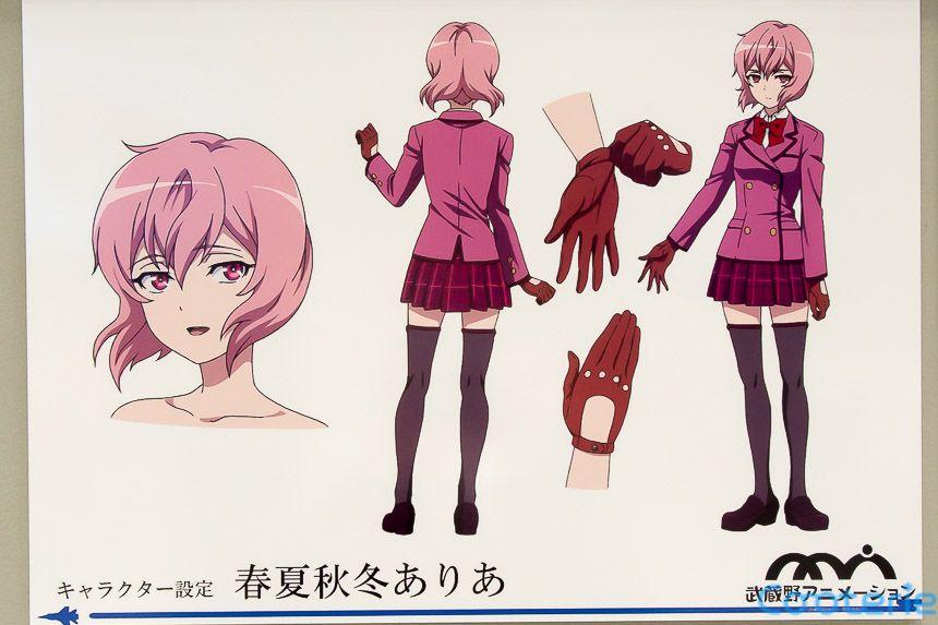 Shirobako: The Third Aerial Girls Squad Character Model Sheets