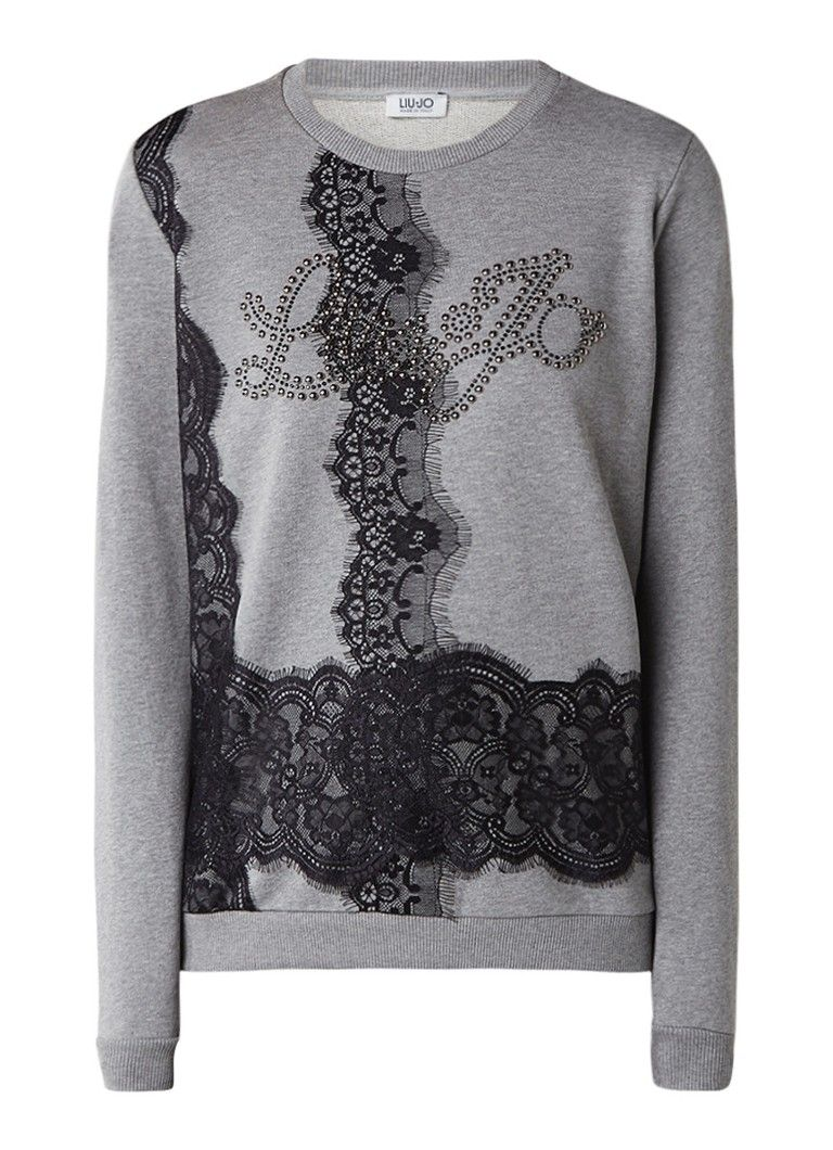 07d5d2a05db Op zoek naar Liu Jo Sweater met kant en strass ? Ma t/m za voor ...