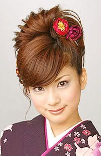 Japanese Bun Hairstyle Japanese Hairstyles Alexx S Fashion In