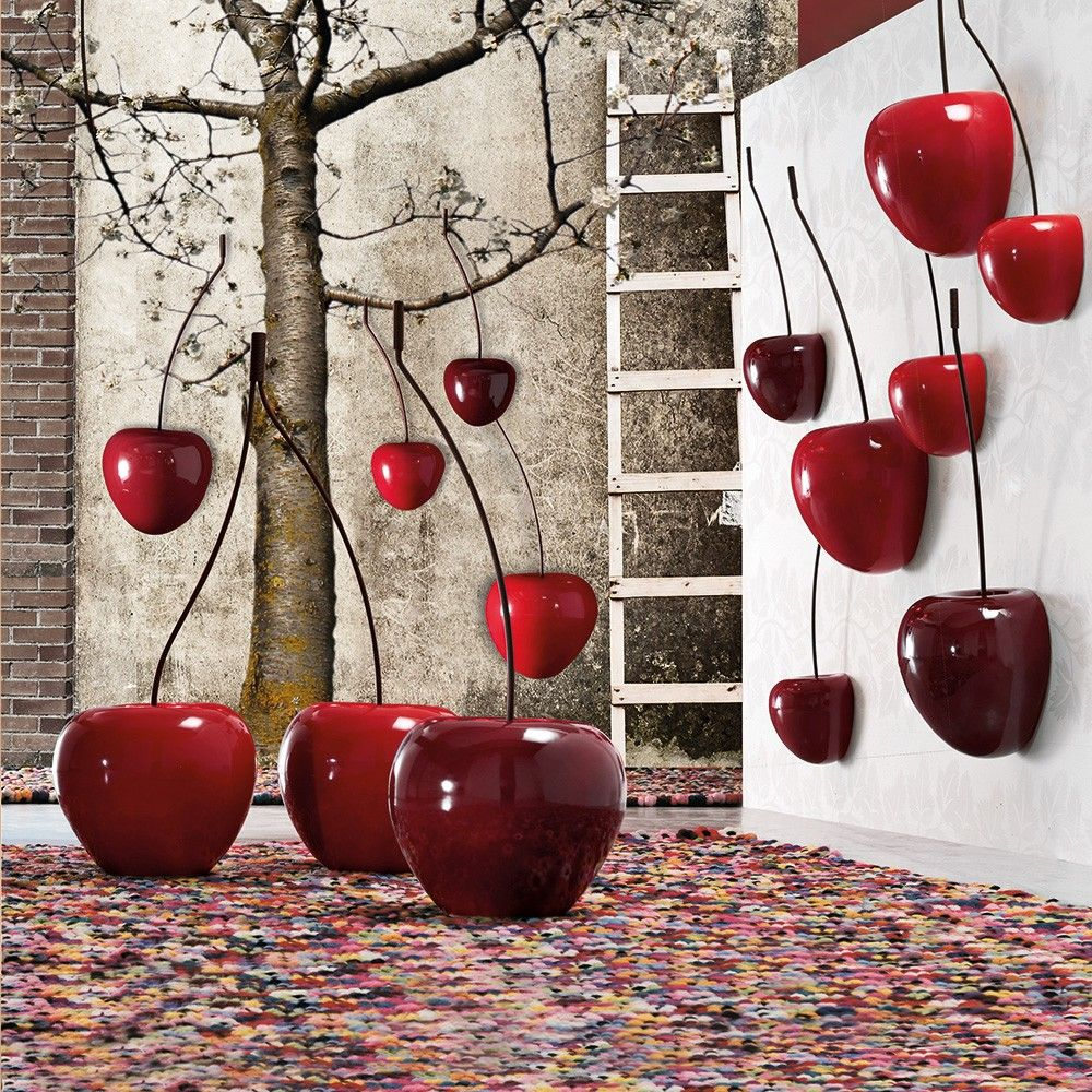 ADRIANI E ROSSI Cherry sculpture Model Q280ROX110 size 90h*Ф26 size ...
