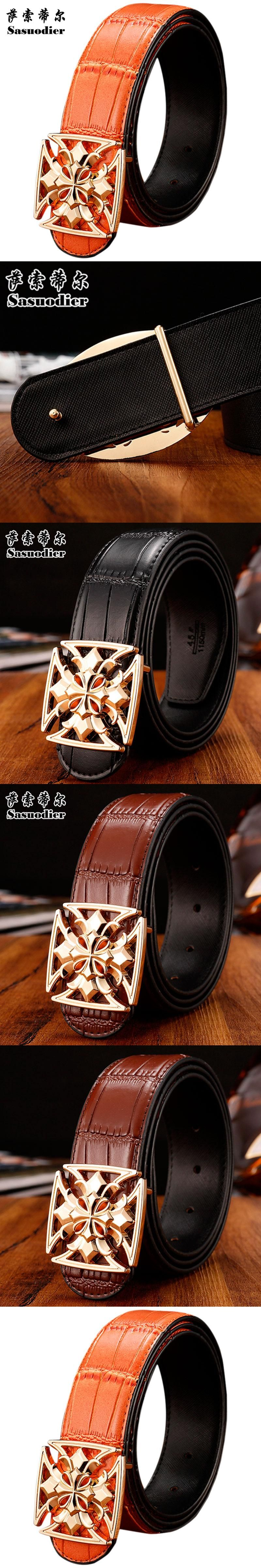 Luxury men belt leather alloy letters belt buckle Belts For Men buckle High  Quality Brand Designer 472166877f2