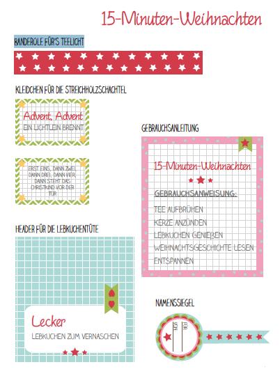 15 Minuten Weihnachten Anleitung.Free Printable Downloaden Einpacken Bekleben Und Verschenken 15