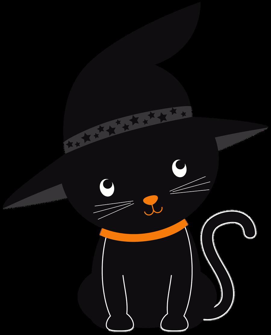 Halloweenkittenclipartset Id 182 02 Png Halloween Cat Halloween Images Halloween Clipart