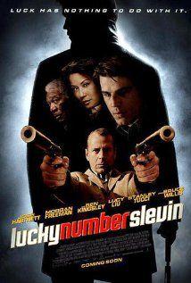 Lucky Number Slevin Cartazes De Cinema Filme 2017
