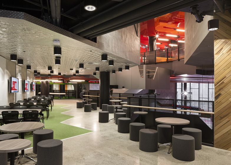 RMIT University Swanston Academic Building by Lyons faculty