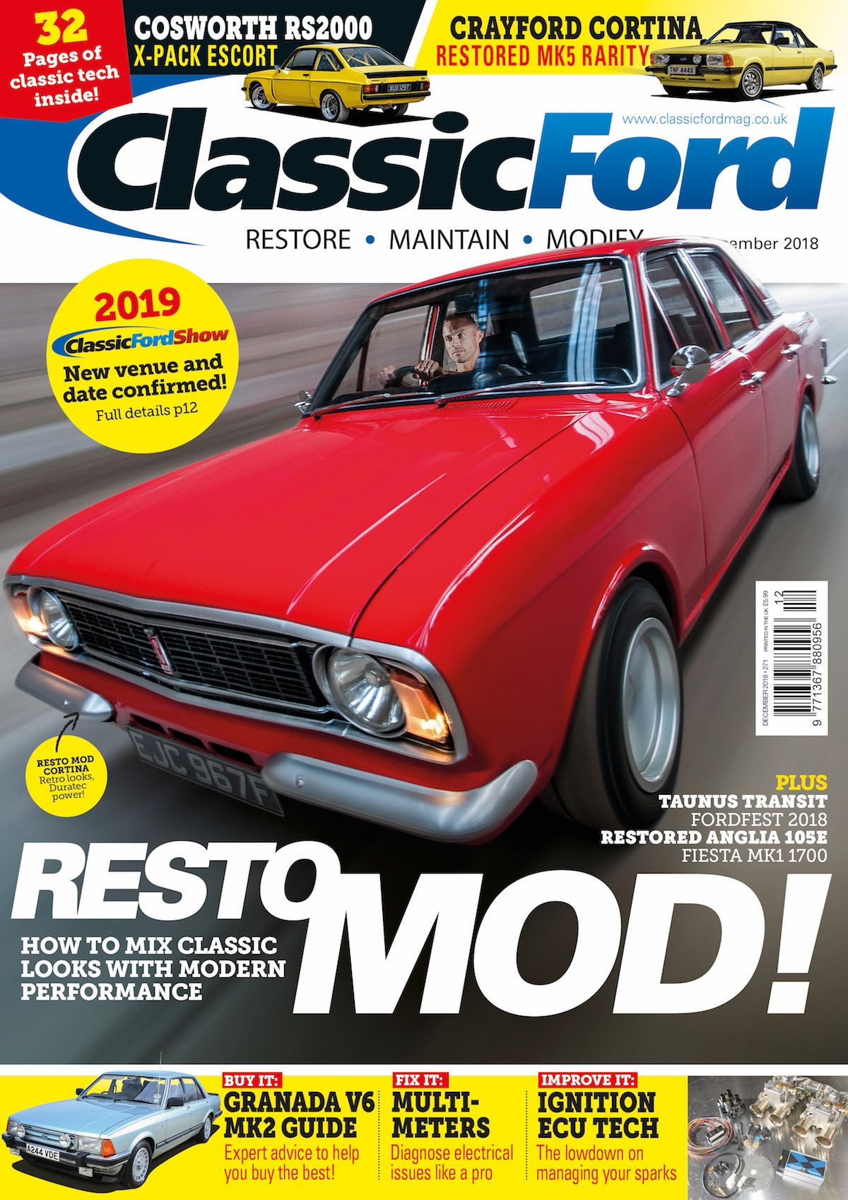 Classic Ford December 2018 Issue Out Now Classic Ford Mustang