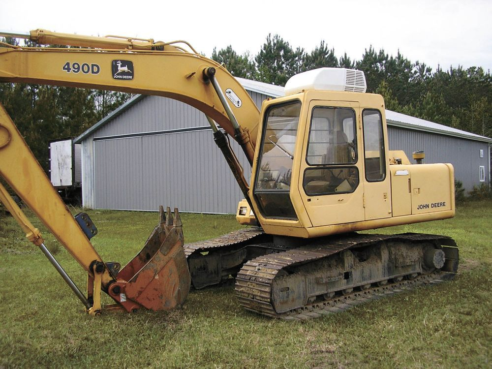 Air Conditioning Added To 30YearOld Trackhoe (With