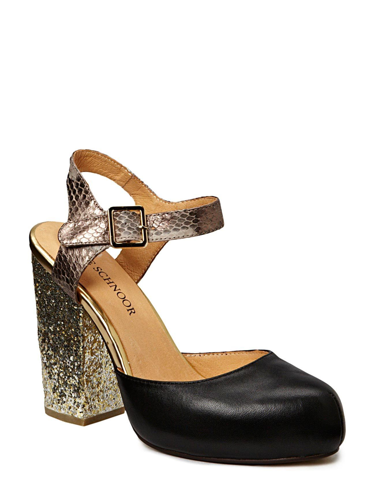 Sofie Schnoor - Leather/snake skin pump