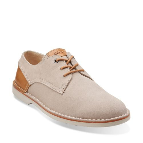 Hinton Fly Sand Suede - Men's Oxford Shoes - Clarks® Shoes - Clarks