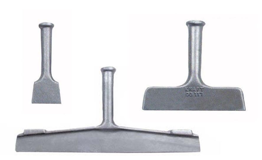 """8/"""" 18/"""" for stamped concrete Aluminum Decorative Concrete Chisels Set 3/"""""""